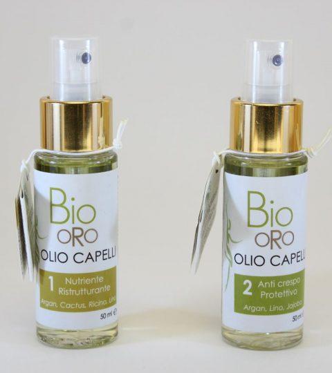 Bio Oro Olio E Capelli